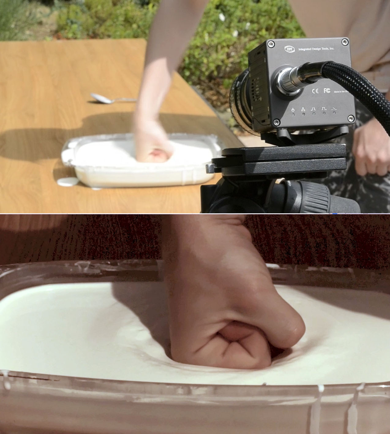 non newtonian solid