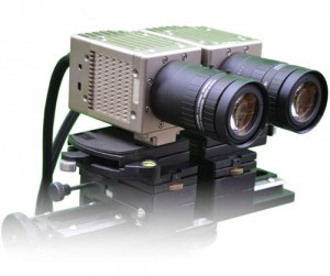 2 NR5 cameras, sync'd for 3D filming